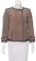 M Missoni Silk Double-Breasted Jacket