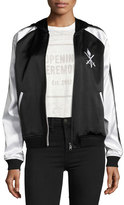 Opening Ceremony Torch Silk Track Bomber Jacket