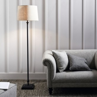 The White Company Cowley Floor Lamp, Black, One Size