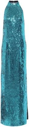 Galvan Oceana sequined gown