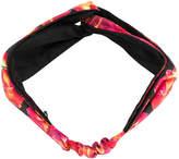 Salvatore Ferragamo floral head scarf