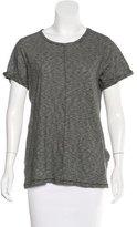Rag & Bone Striped Short Sleeve Top