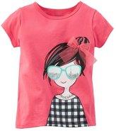 """Carter's Little Girls' Toddler """"I See Paris"""" T-Shirt"""