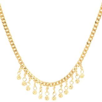 Elhanati Veronika 24kt gold-plated silver necklace