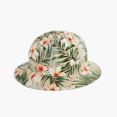 J.Crew Bucket hat in tropical print