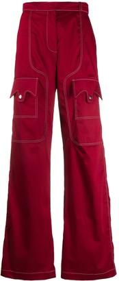 Thebe Magugu Utility Cargo Pants