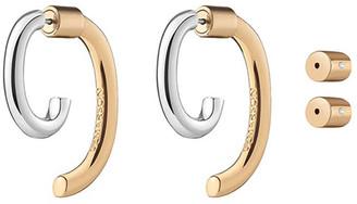 DEMARSON Convertible Two-Tone Luna Earrings