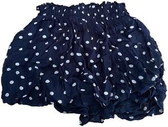 Ganni Navy Skirt for Women