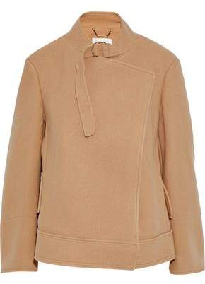 Chloé Wool And Angora-blend Felt Jacket