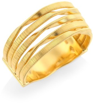Marco Bicego Marrakech Onde 18K Yellow Gold Coil Strand Ring