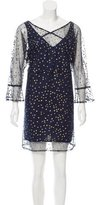 See by Chloe Polka Dot Mesh Dress