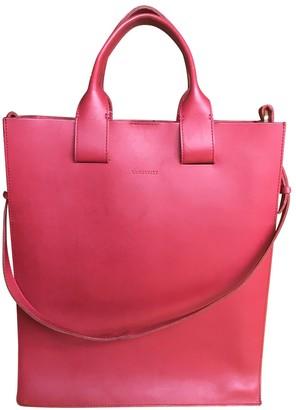 SANDQVIST Red Leather Handbags