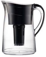 Brita Capri 10-Cup Water Filter Pitcher in Black