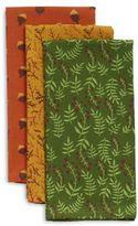 """Sur La Table Assorted Woodland Kitchen Towels, 28"""" x 20"""", Set of 3"""