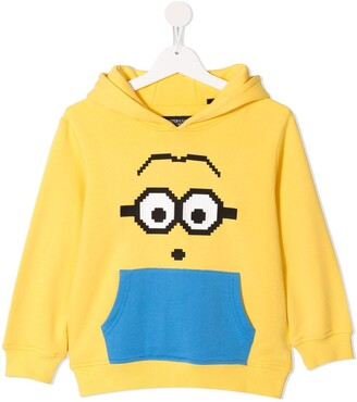Mostly Heard Rarely Seen 8-Bit x Minions Staring Goggles 8-Bit hoodie