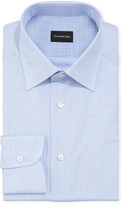 Ermenegildo Zegna Men's Gingham Check Dress Shirt