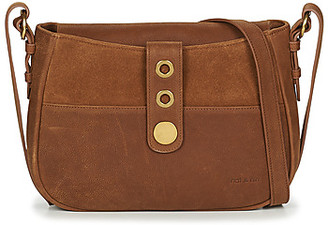 Nat & Nin MICHELLE women's Shoulder Bag in Brown