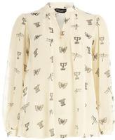 Dorothy Perkins Letter print blouse
