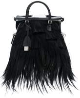 Maison Margiela furry shoulder bag