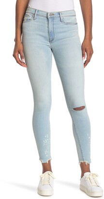 Black Orchid Carmen High Rise Ankle Fray Jeans