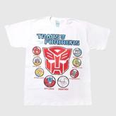 Transformers Boys' T-Shirt - White