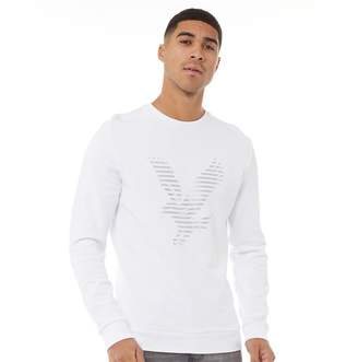 Lyle & Scott Vintage Mens Logo Sweatshirt White