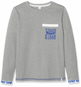 Esprit Boy's Rq1009412 T-Shirt Ls Elas Long Sleeve Top