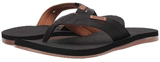 Flojos Waverunner (Brown) Men's Toe Open Shoes