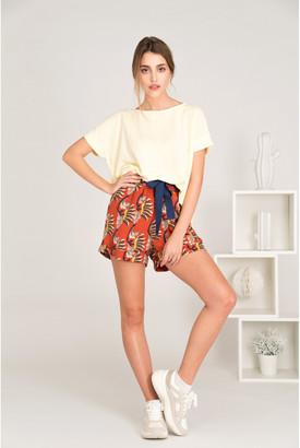 Lei 1984 - Carine Vanilla Tee-Shirt - M (2) | pale yellow | Polyester | cotton