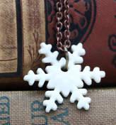 MeMeMe me me me Snowflake Necklace