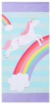 Pottery Barn Kids Classic Unicorn Beach Towel