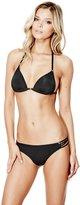 GUESS Solid Multi-Strap Bikini Bottoms