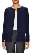 Lafayette 148 New York Knit Cotton Cardigan