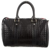 Clare Vivier Quilted Leather Satchel