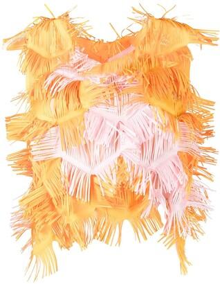 PASKAL clothes Fringe Design Blouse