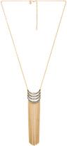 Rebecca Minkoff Fringe Pendant Necklace