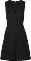 Theory Mariam velvet-flocked voile dress