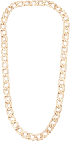 Vita Fede Milos Mini Rose Gold Chain Link Necklace