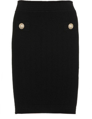 Balmain Stretch Skirt