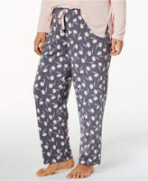 Alfani Plus Size Printed Pajama Pants, Created for Macy's