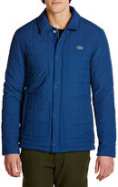 Lacoste Long Sleeve Quilted Jacket