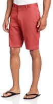 Louis Raphael Men's Slim-Fit Flat-Front Garment-Dye Short