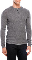 lincs Cashmere Henley Sweater