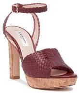 LK Bennett Margot Woven Platform Sandal