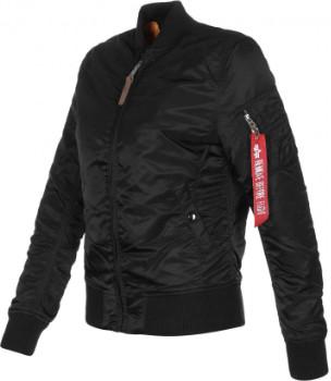 Alpha Industries Black MA1 VF Women Jacket - l