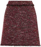 Warehouse Victoria Tweed Skirt