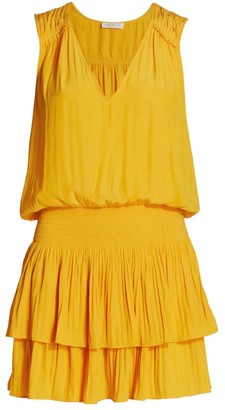 Ramy Brook Caitlin Tiered Mini Dress