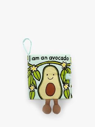 Jellycat I Am An Avocado Soft Book
