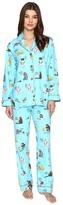 PJ Salvage Hanukkah Cats Flannel PJ Set