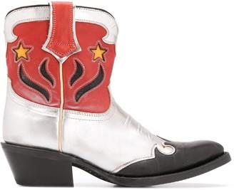 Ash Ankle Cowboy Boots